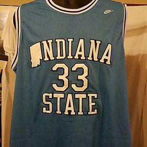 Larry Bird Nike Indiana State jersey